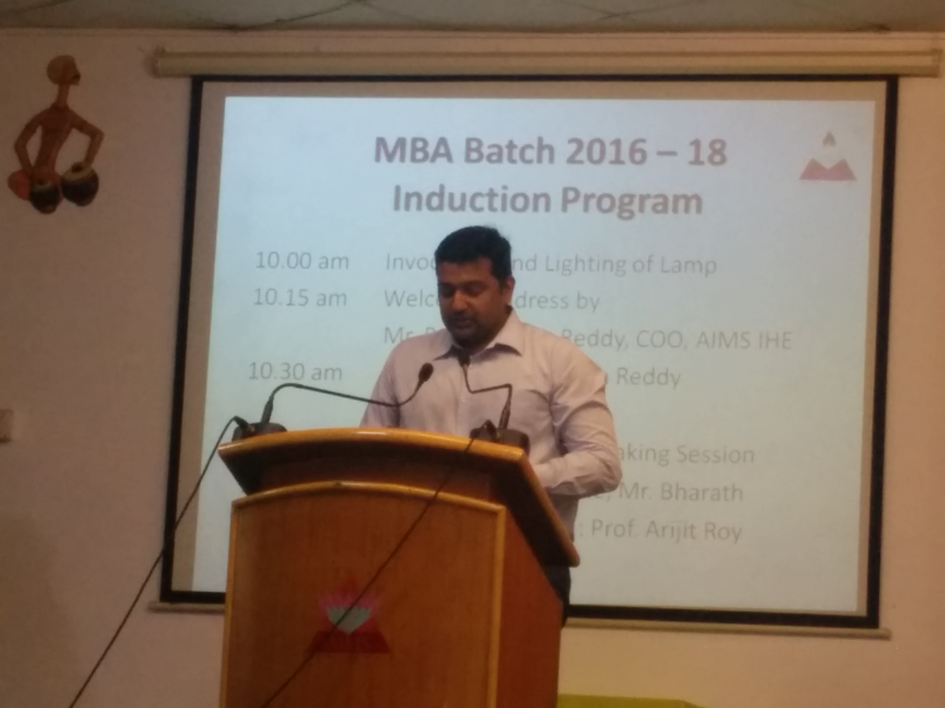 MBA BATCH WELCOME